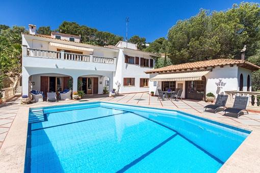 Einfamilienhaus mit viel Potenzial in Costa d'en Blanes