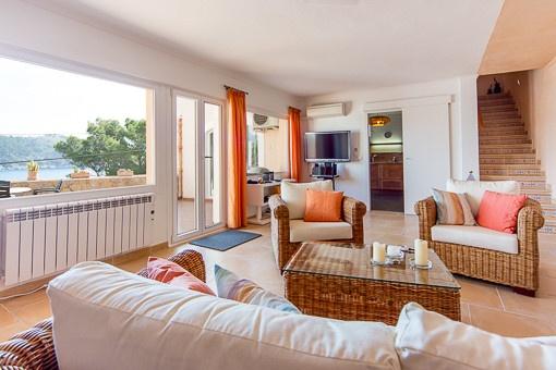 Gepflegte Maisonette-Wohnung mit spektakulärem Meerblick!