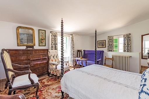 Traditionelles Schlafzimmer