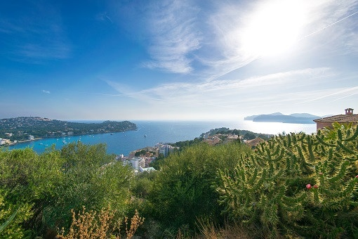 Moderne sich im Bau befindliche Luxusvilla mit Meerblick in Costa de la Calma