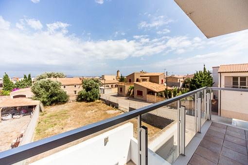 Schöne Wohnung in Colonia Sant Pere mit riesiger Dachterrasse