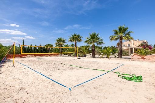 Privates Beachvolleyballfeld