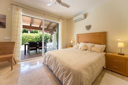 Gästeschlafzimmer im Erdgeschoss