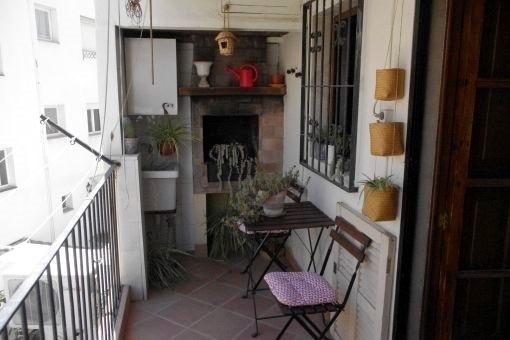 Aussergewöhnliche Wohnung in Santa Catalina in der Nähe vom Markt und dem Paseo Maritimo