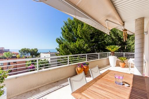 Fantastisches Penthouse mit tollem Meerfernblick & Dachterrasse in einer Luxusanlage in San Augustin