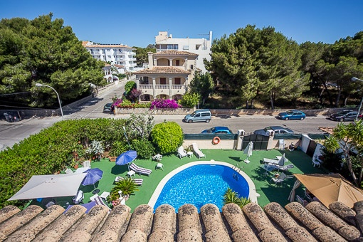 Große Villa mit 3 unabhängigen Ferienwohnungen in Cala Ratjada
