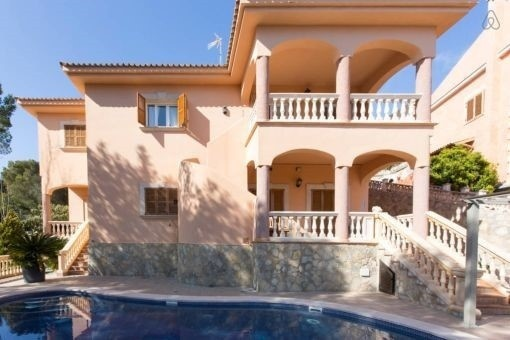Villa mit Pool in Costa d´en Blanes