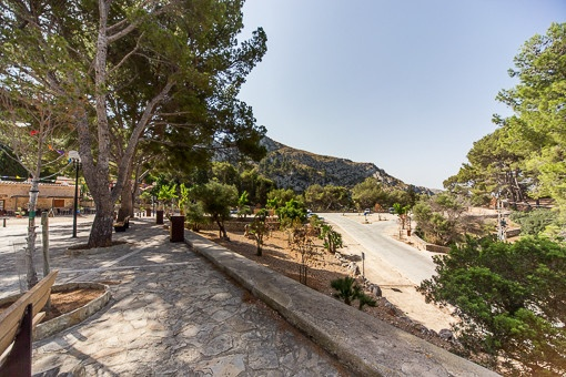 Umgebung Blick von der Ermita von Victoria