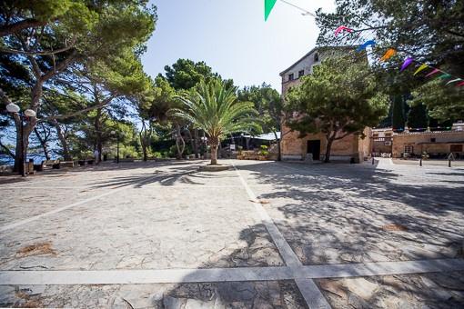 Umegbung Platz Ermita de Victoria