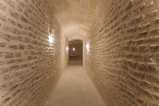 Kellergewölbe der Finca