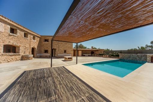 Mallorquinische Terrasse