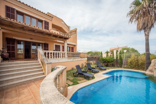 Großes Einfamilienhaus mit Pool in Colonia Sant Pere