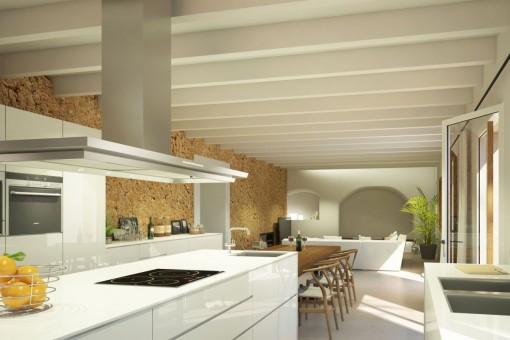 Elegante Küche