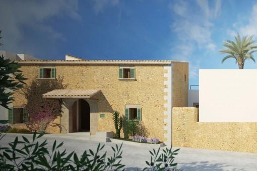 Luxuriöser Neubau in Ses Alqueríes, 20 Minuten von Palma & mit der Möglichkeit des Baus eines 2. Hauses
