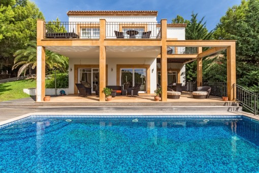 Villa mit Charakter und viel Privatsphäre in Costa de la Calma