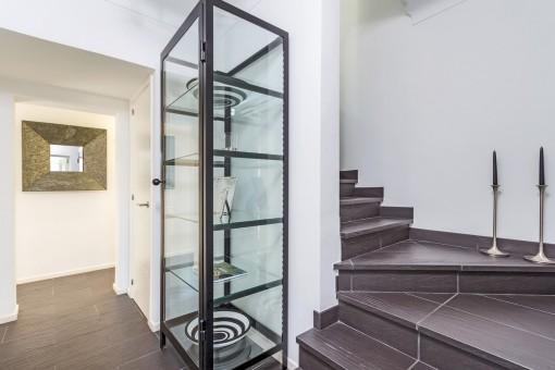 Zugang zur oberen Etage