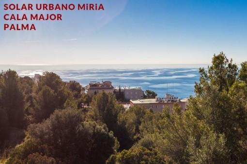 Bauprojekt für 10 Einfamilienhäuser mit Meerblick in Cala Mayor