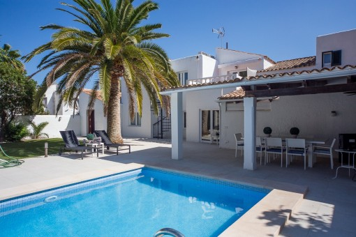 Moderne Villa in ruhiger Wohnlage in Sol de Mallorca