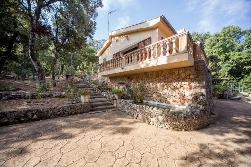 Ruhig gelegenes Komforthaus in einzigartigem Bergambiente, das zum Weltkulturerbe der UNESCO gehört