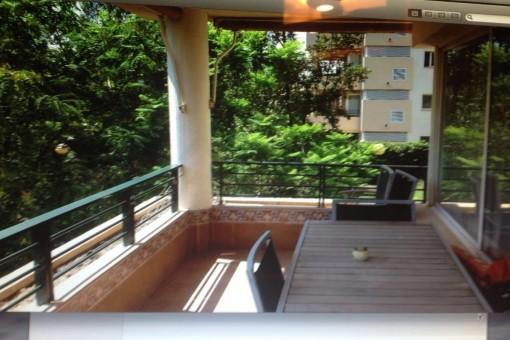 Familienfreundliches Apartment in ruhiger Gegend mit schönen Blick auf Palma