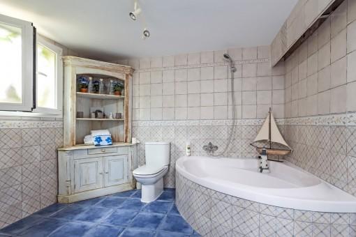 Großes Badezimmer vom Studio
