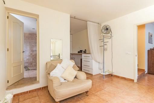 Wohnbereich vom Gästezimmer