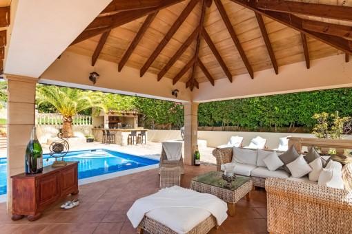 Fabelhafte Villa im unteren Teil des Hügels von Costa d'en Blanes