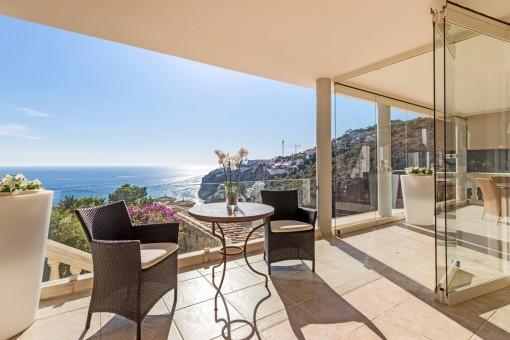 Luxusvilla mit atemberaubendem Meerblick in Puerto de Andratx