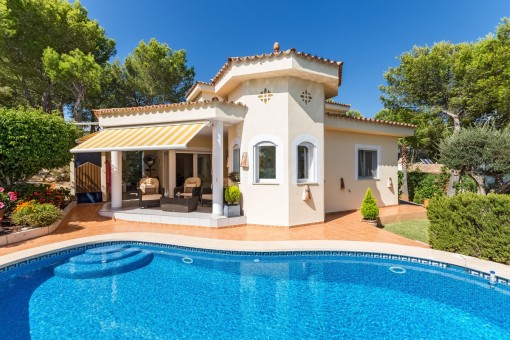 Eine herrliche, ruhige Villa in hervorragendem Zustand in Costa de la Calma