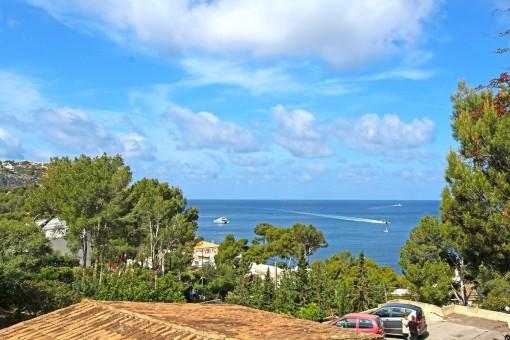 Villa in Port Andratx mit traumhaften Blick auf die Bucht