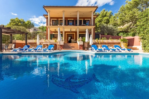 Villa mit Gästeapartment in der Nähe vom Strand in Costa de la Calma