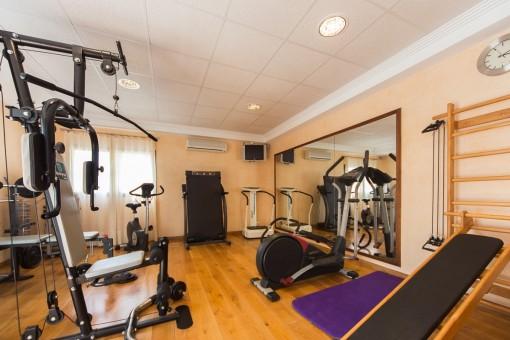 Fitnessstudio mit vielen Möglichkeiten
