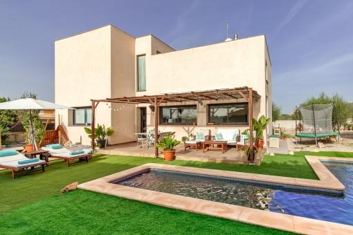 Minimalistische Villa in Sa Torre