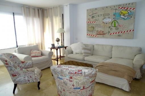 Sehr schöne Wohnung in einer top Anlage in Palma City.