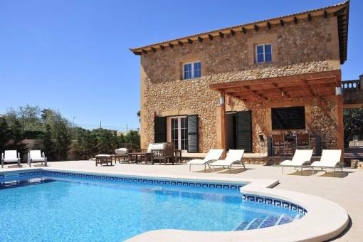 Fantastische Villa mit herrlichem Meerblick in Sa Torre
