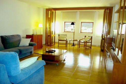 Sehr schöne geräumige Wohnung direkt im Zentrum von Palma mit Garage inklusive