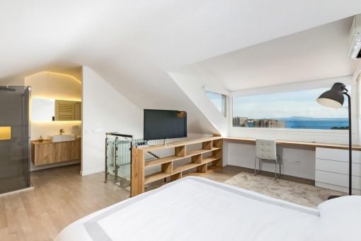 Schlafzimmer komplett la vida at17077 walnuss lack weiss 5trg nolte