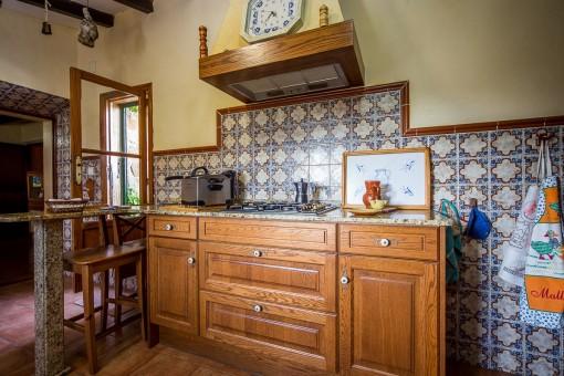 Ein anderer Blick in die Küche