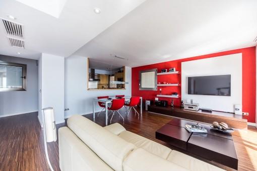Eleganter Wohnbereich