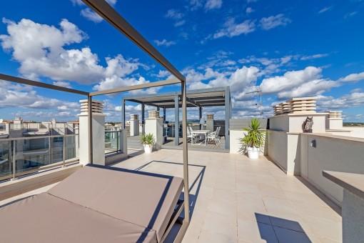 Hochwertige Penthouse-Wohnung Mit Traumhaften Meerblick In Cala