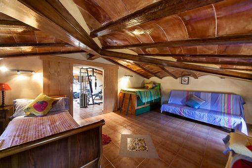 Romantisches Schlafzimmer