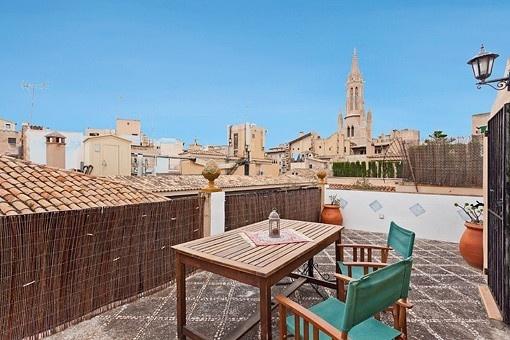 Tolle Triplexwohnung mit Terrasse in der Altstadt von Palma