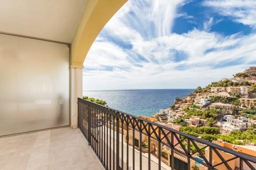 Wunderschöne Wohnung mit Meer- und Bergblick in Cala Moragues
