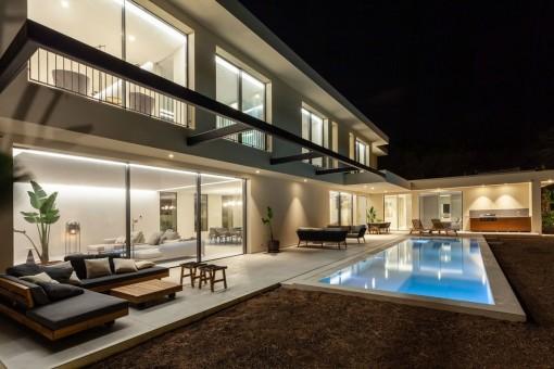 Moderne Neubau-Villa in begehrter Lage in Santa Ponsa