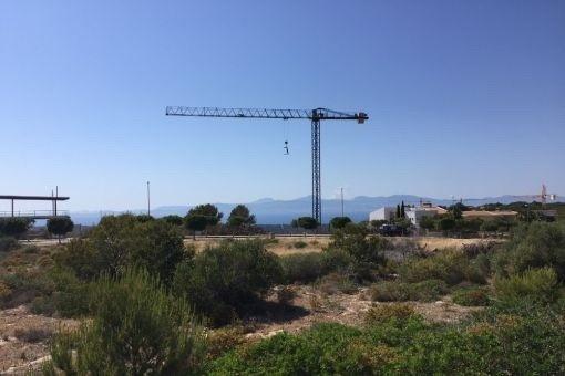 2. Linie Grundstück in Puig de Ros