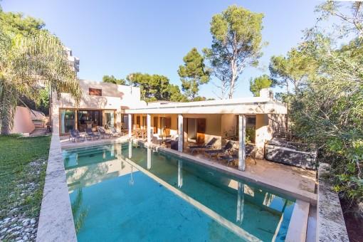 Moderne Villa in einer ruhigen Gegend in der Nähe des Strandes in Port de Pollença