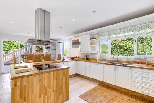Kürzlich renovierte Küche
