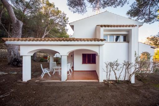 Ferienvilla mit 4 Schlafzimmern in Wohnanlage nur wenige Minuten vom Meer entfernt, Cala Sant Vicenç