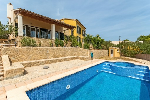 Hübsches Einfamilienhaus mit Pool in Costa de la Calma