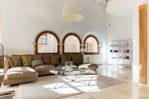 Alternative Ansicht vom Wohnzimmer